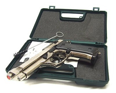 Pistola Kimar a salve 92 inox calibro 8 mm Top Firing