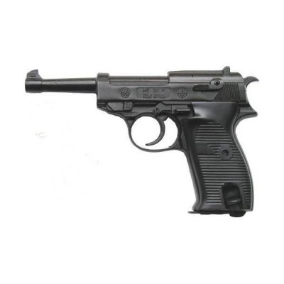 PISTOLA A SALVE BRUNI P38 ME NERA CALIBRO 8 MM.